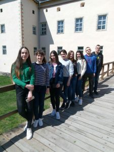 Екскурсія замками Закарпаття. Ужгород П-31 Б 2 курс