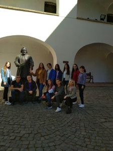 Екскурсія замками Закарпаття. Ужгород П-31Б 2 курс