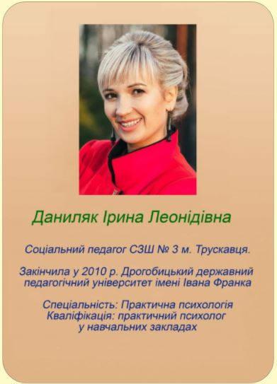 Даниляк Ірина