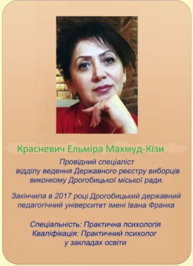 Красневич Ельміра