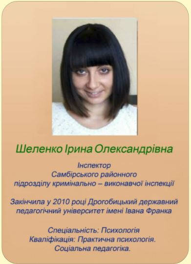Шеленко Ірина
